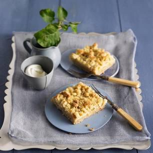 Streuselkuchen: Apfelkuchen mit Streuseln