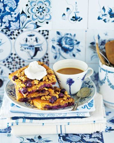 Blaubeer-Becherkuchen