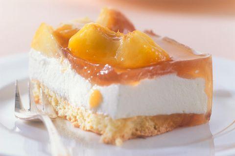 Pfirsischkuchen mit Mascarpone