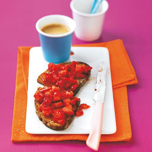 Erdbeer-Frühstücksbrot