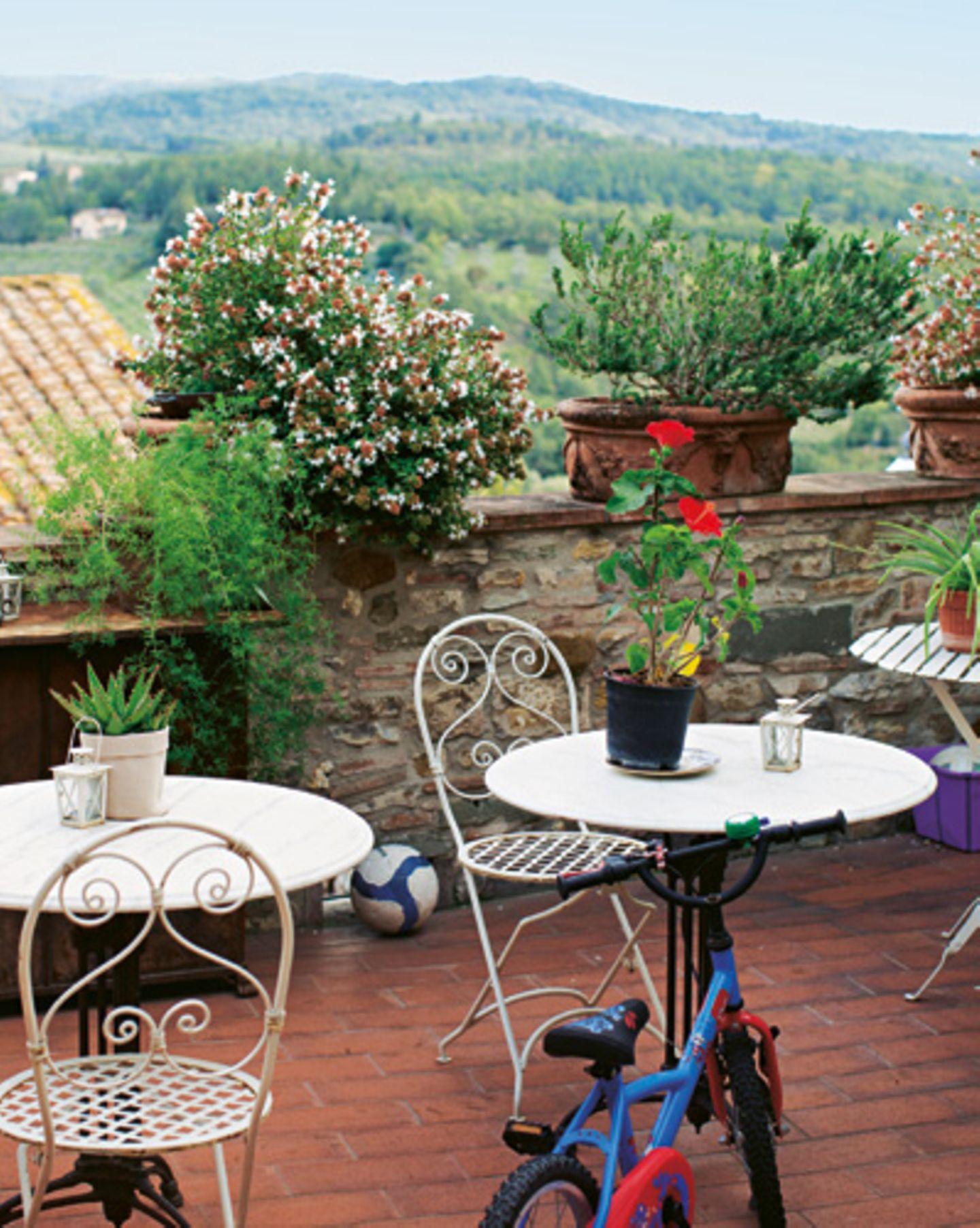 1) Die schönsten Hotels in der Toskana: Terrazze del Chianti