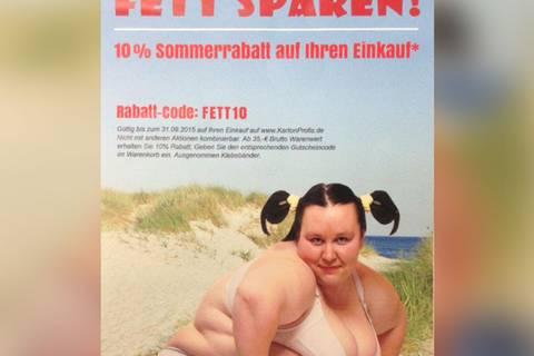 """""""Fett sparen"""": Diese sexistische Werbung wurde abgestraft!"""