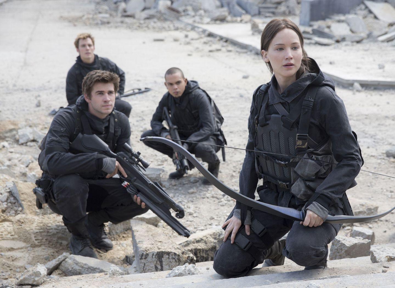 1. Jennifer Lawrence und Katniss Everdeen