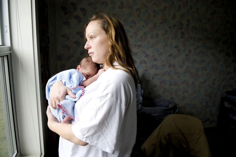 Alycia und Corey (3 Wochen alt)