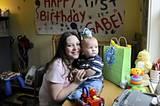 Samantha und Gabriel (ein Jahr alt)
