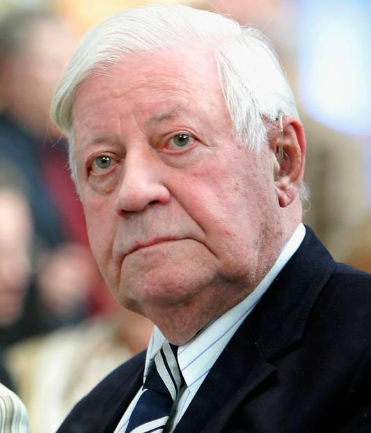 """Helmut Schmidt Zitate: """"Wollen wir denn auch noch Weltmeister im Jammern werden?"""""""