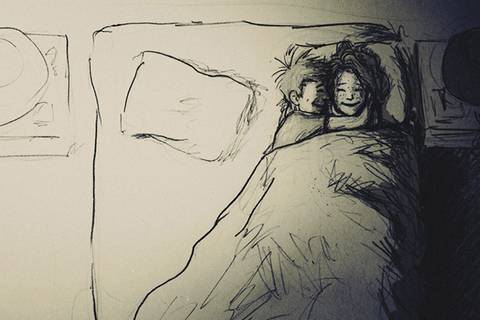 So rührend zeichnet ein Ehemann die Liebe zu seiner Frau