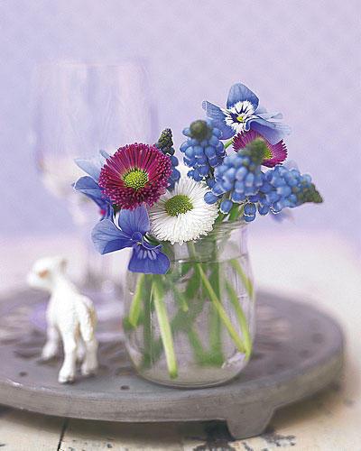 Blumen Deko dekorieren blumen deko ideen für den frühling brigitte de