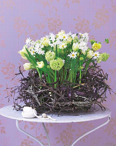 Dekorieren Blumen Deko Ideen F R Den Fr Hling