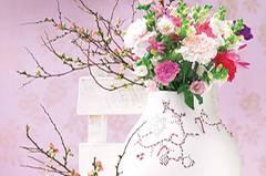 Blumenstrauß mit Glockenblumen