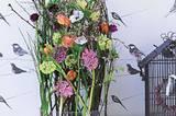 Blumengesteck Frühling