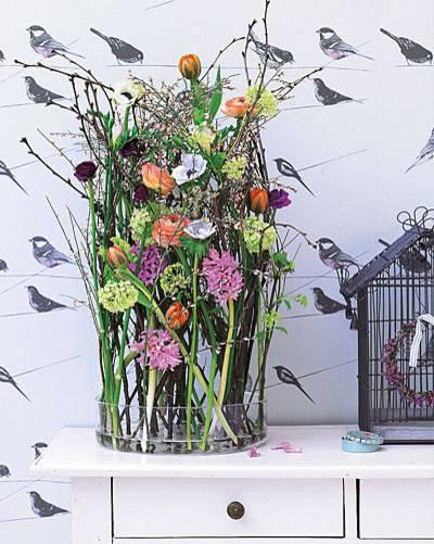 Dekoideen Frühling dekorieren blumen deko ideen für den frühling brigitte de