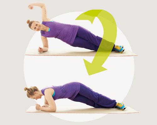Bauch-Übungen für Zuhause - so geht's: