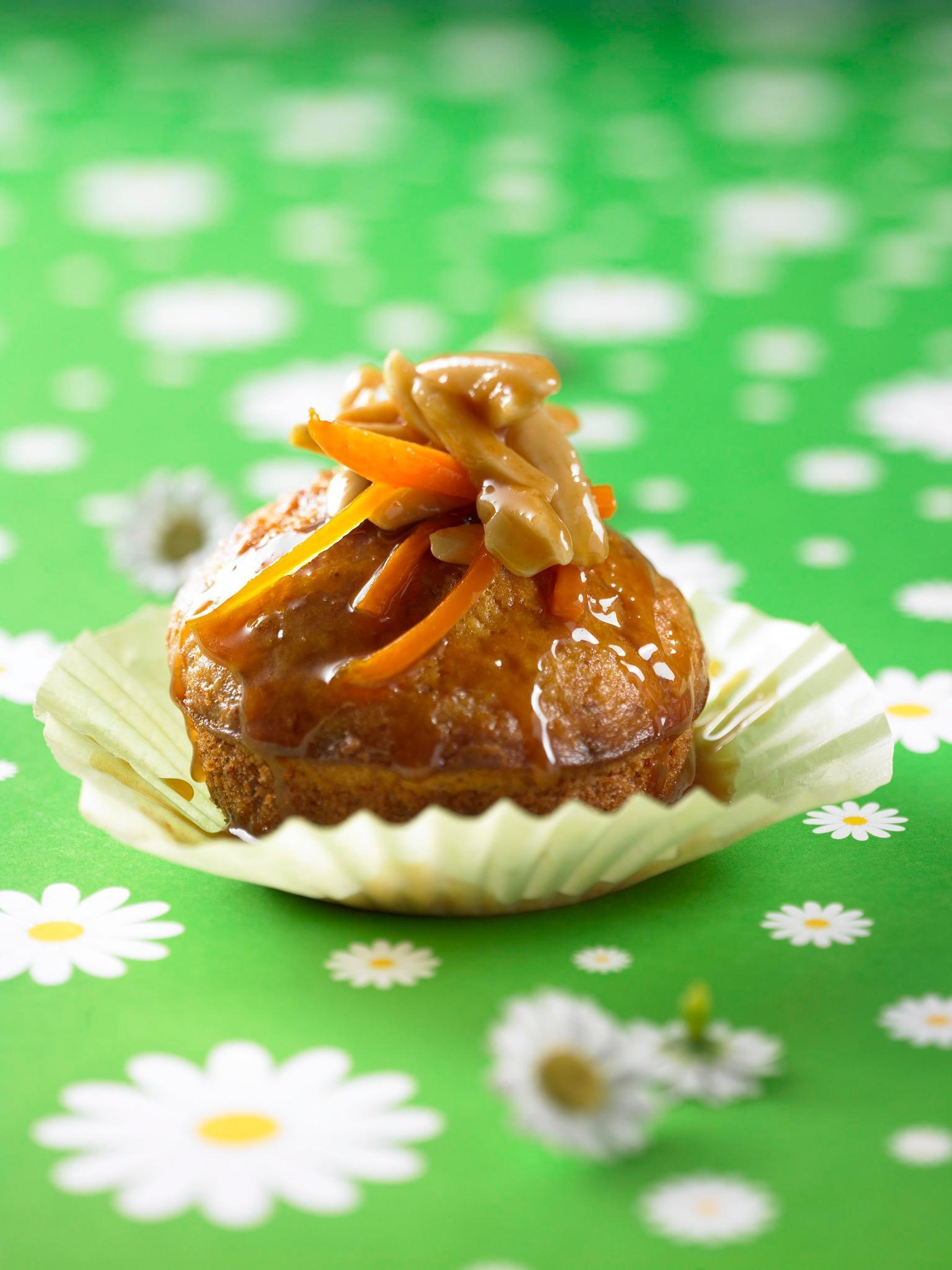 Mandel-Möhren-Muffins