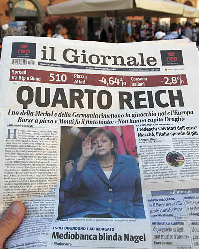 Angela Merkel Il giornale