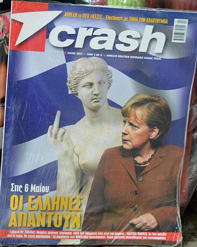 Angela Merkel Crash