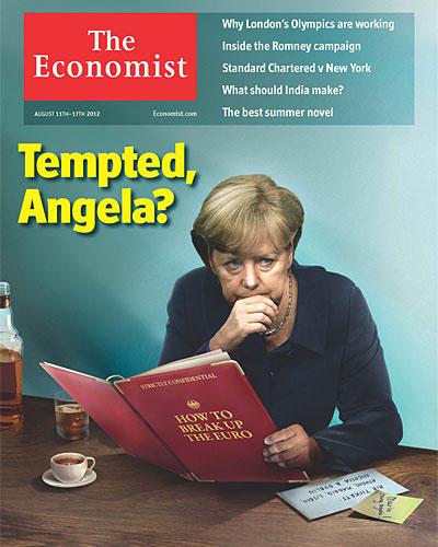 Angela Merkel The Economist