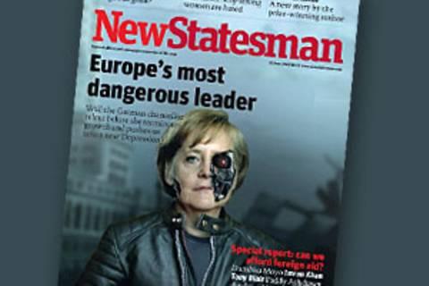 Cover-Girl: Angela Merkel, wie die Welt sie sieht