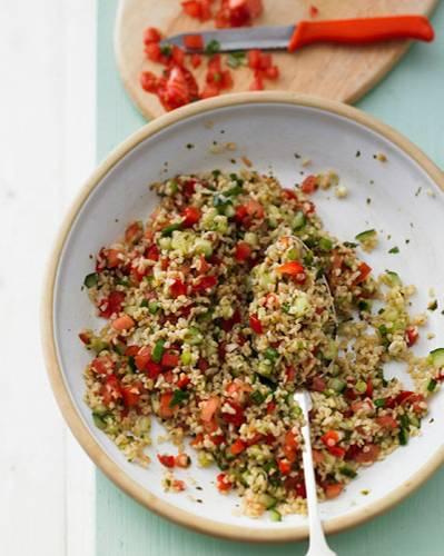 Living-Redakteurin Insa liebt den Tabbouleh-Salat