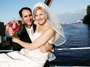 Nina und Christoph heiraten in Hamburg