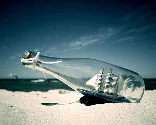 Buddelschiff und Küsten-Feeling