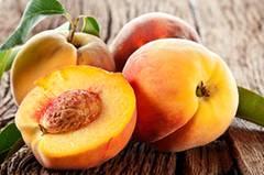 Pfirsich - der Durstlöscher