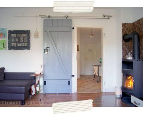 Stalltüren Selber Bauen diy-idee: schiebetür bauen: von der kellertür zur wohnzimmertür