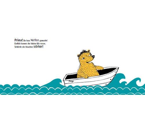 Das lustigste Bilderbuch 2012: ... oder man macht Wellen, indem man das Buch hin- und herwiegt.