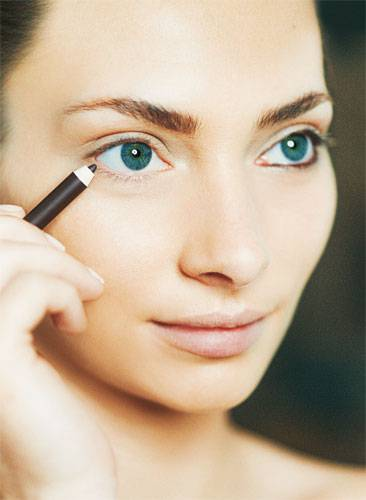 """Tages-Make-up """"Pur"""": Step 1"""