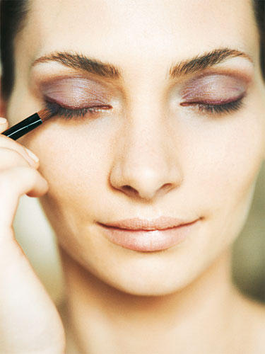 """Tages-Make-up """"Farbe"""": Step 3"""