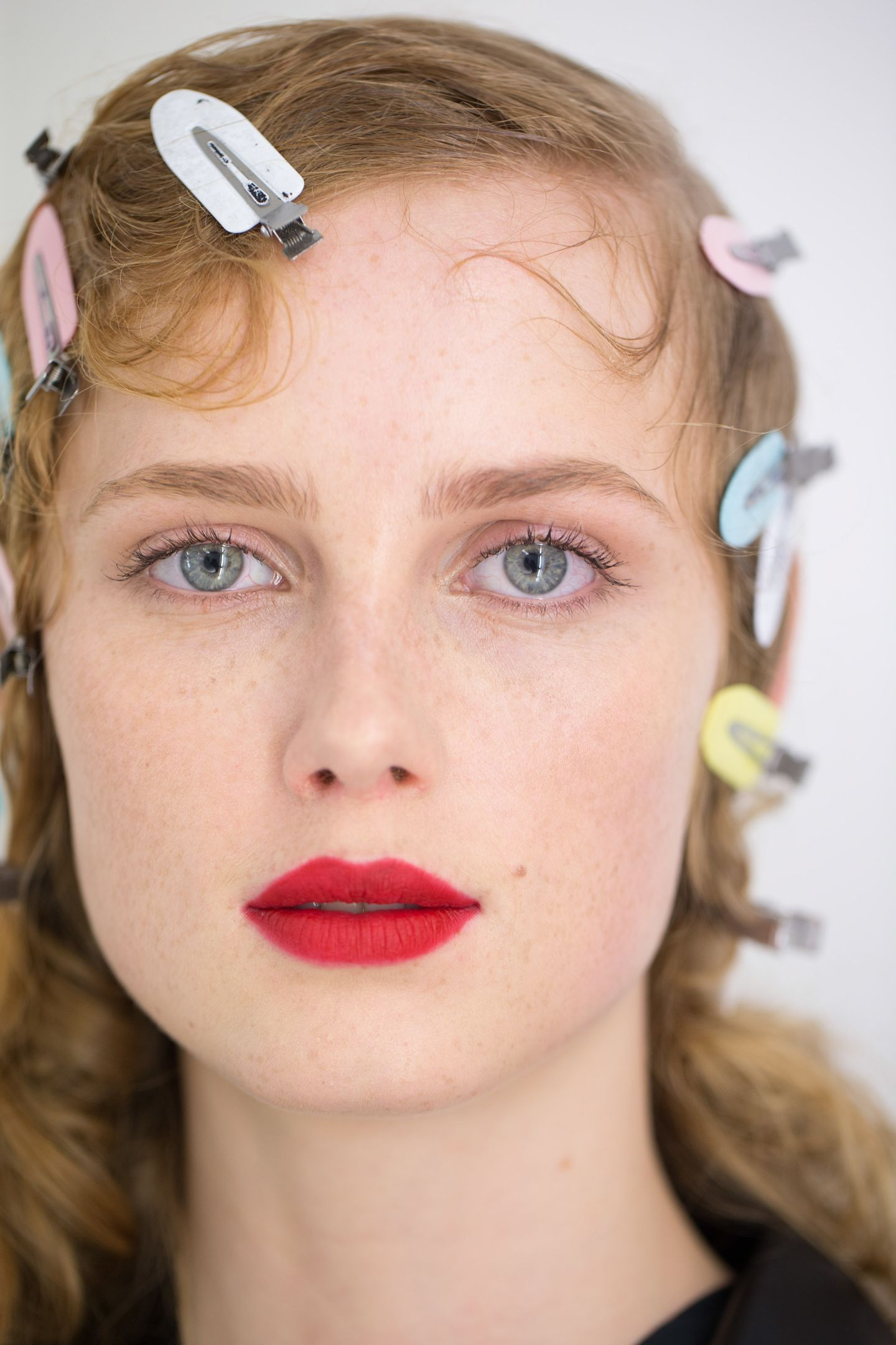 Herbst-Make-up-Trend: Rouge bei Prada