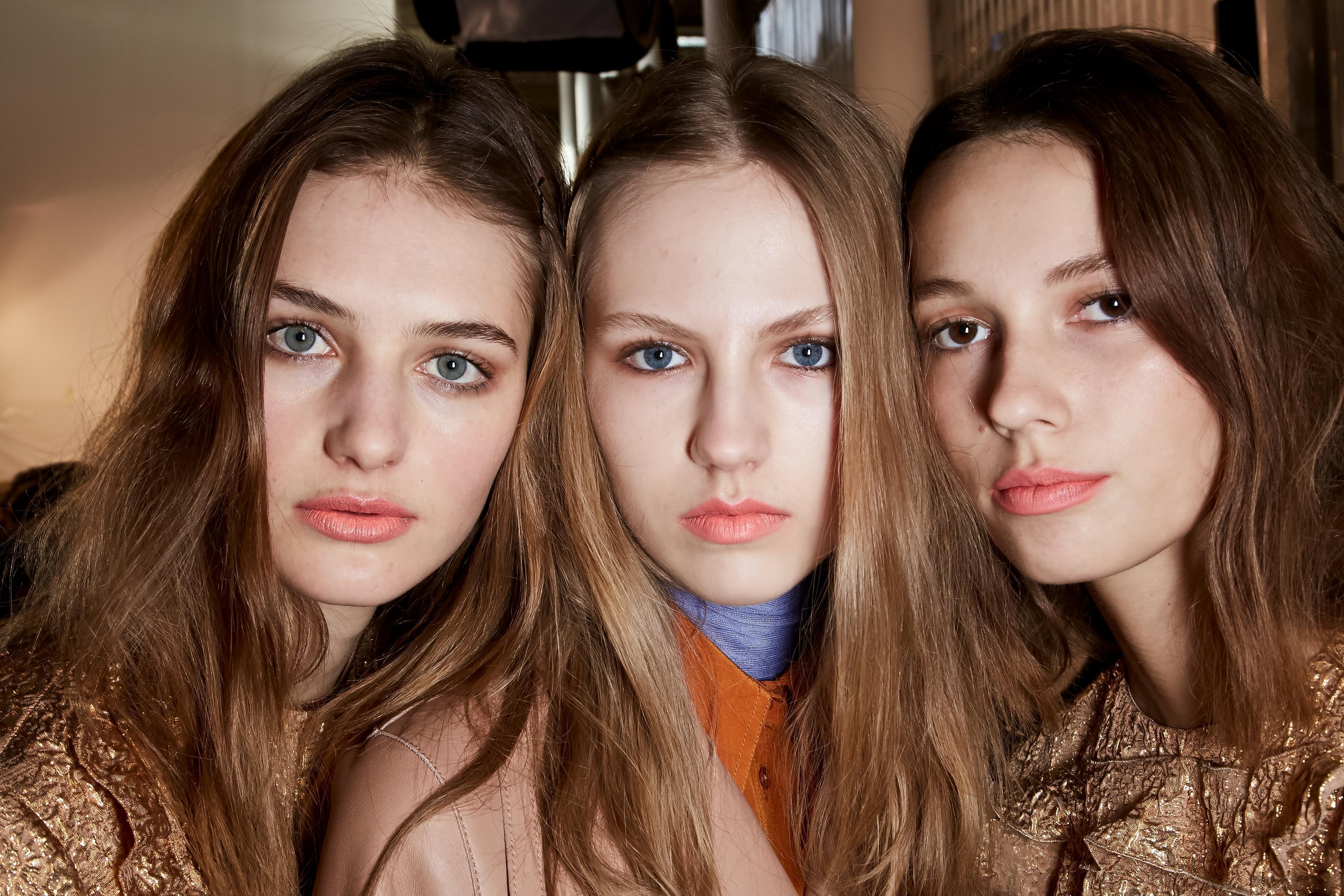 Herbst-Make-up-Trend: Oranger Lippenstift bei Rochas