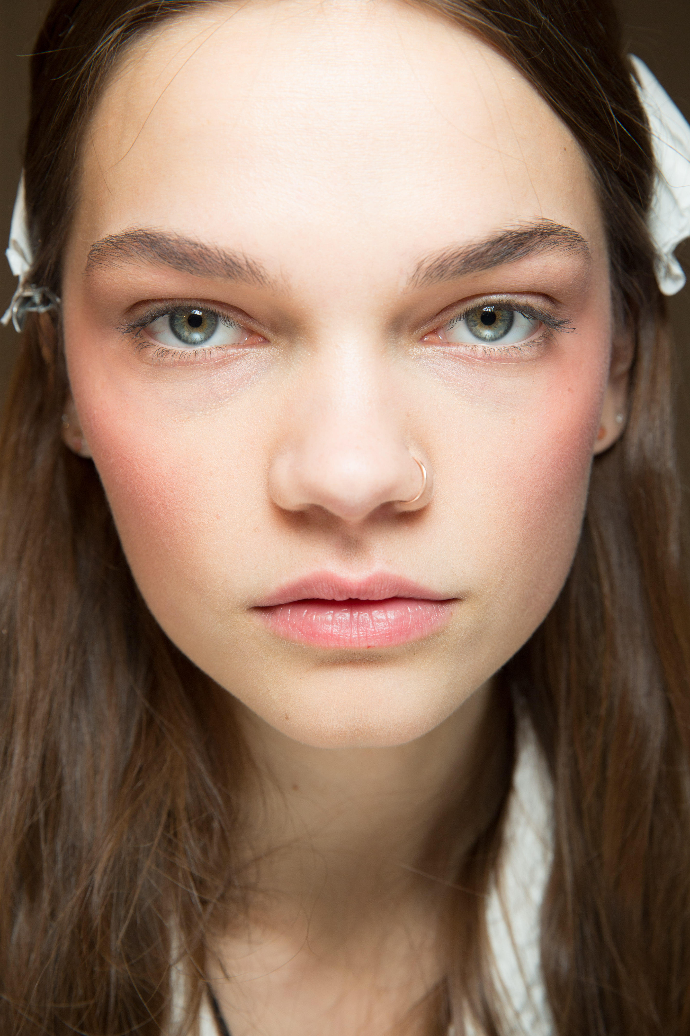 Herbst-Make-up-Trend: Rouge bei Gucci
