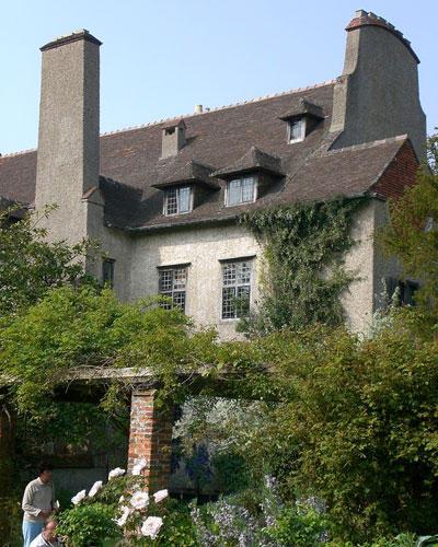 Bois des Moutiers in der Normandie