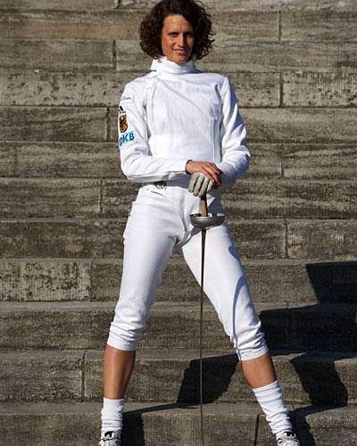 Moderne Fünfkämpferin Lena Schöneborn