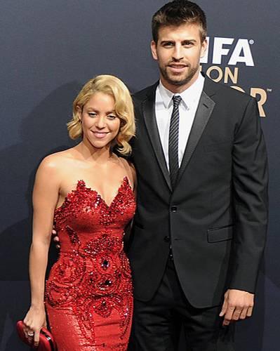 Spieler und ihre Frauen: Shakira und Pique