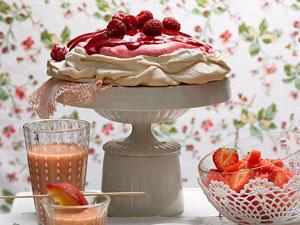 Sommerliche Rezepte - mit ganz vielen Früchten