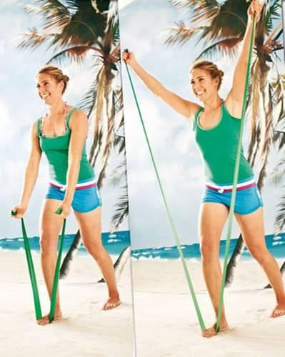 Workout: Übungen für Schultern, Arme und Rücken | BRIGITTE.de