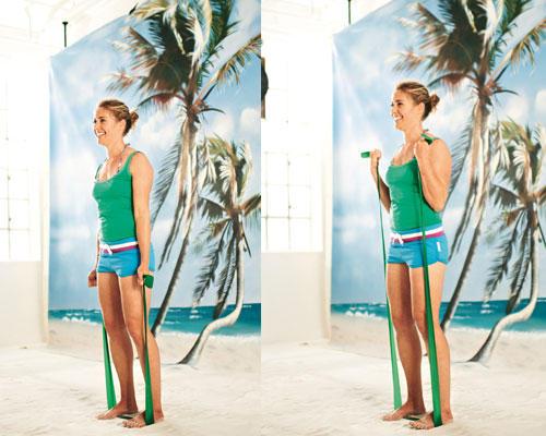 Übung 7: Der Muckizug - das perfekte Finish für die Sommerarme
