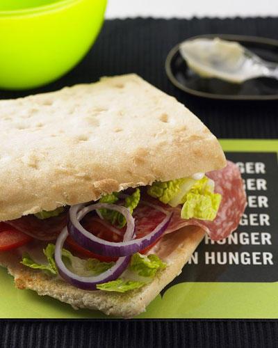 Mc-Salami-Sandwich