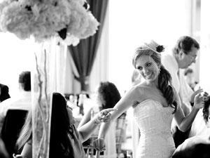 Melissas und James' elegante Hochzeit