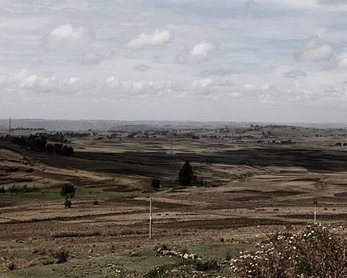 Das idyllische Hochland um Debre Berhan in Äthiopien liegt rund 120 Kilometer nordöstlich der Hauptstadt Addis.