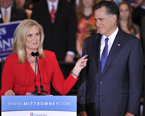 """US-Wahlkampf: Ann Romney ist die Geheimwaffe des oft etwas hölzern wirkenden US-Republikaners Mitt Romneys, dem es schwerfällt, Sympathien zu gewinnen. Zum Auftakt des Parteitages am Dienstag in Tampa hielt seine Frau darum eine Rede. Zur besten Sendezeit des US-Fernsehens betrat sie die Bühne. Wer glaubte, sie werde Romneys Politik erklären, täuschte sich. """"Heute will ich über Liebe reden"""", sagte sie. Mehr bei BRIGITTE.de: Michelle Obama: So stylt sich die First Lady Michelle Obama: Die Unverstellte US-Präsidenten: Das Quiz"""