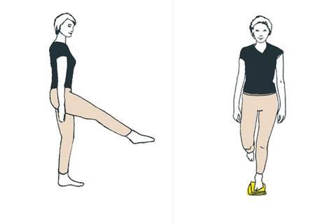 Übungen gegen Schmerzen im Knie