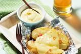 Kartoffel mit Allgäuer Bergkäse aus der Alufolie
