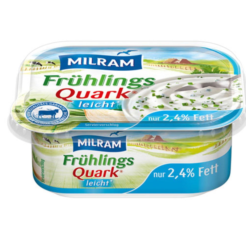 "Rezeptur geändert: ""Frühlingsquark leicht"" von Milram"