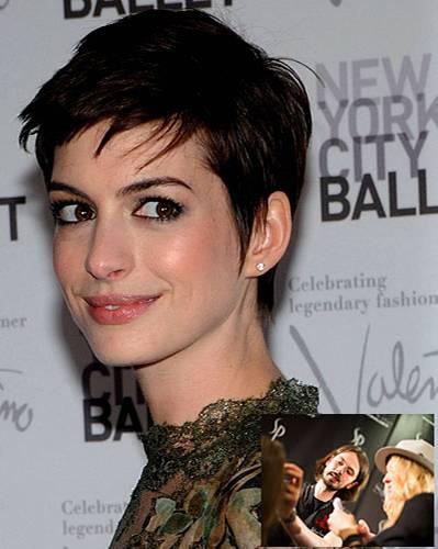 Kurze Haare: Anne Hathaway