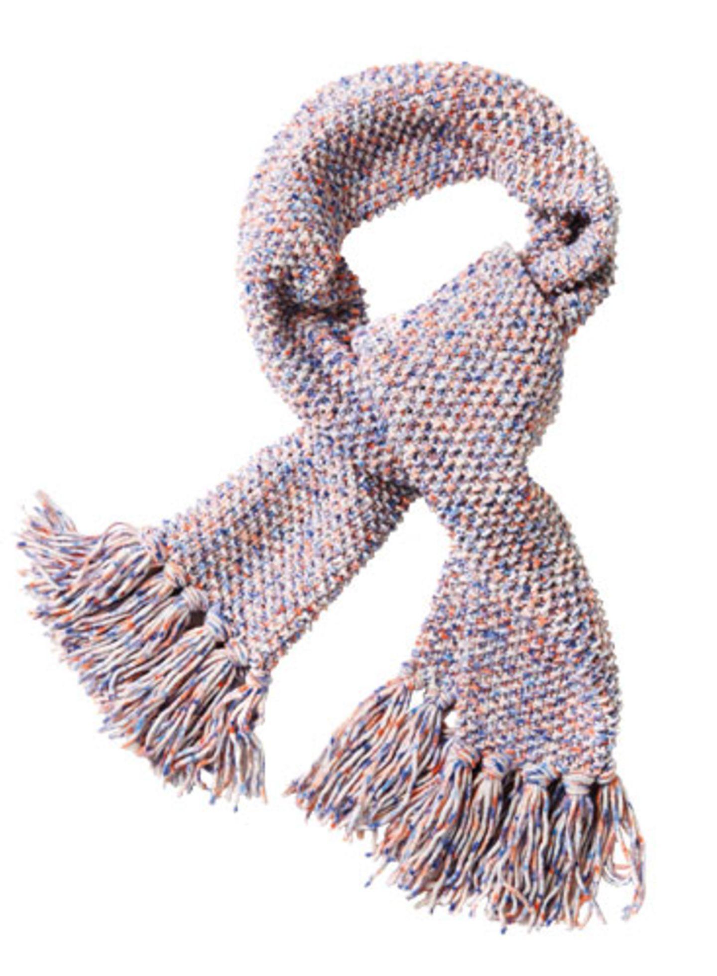 Hier können Sie das Wollpaket für den Perlmuster-Schal bestellen
