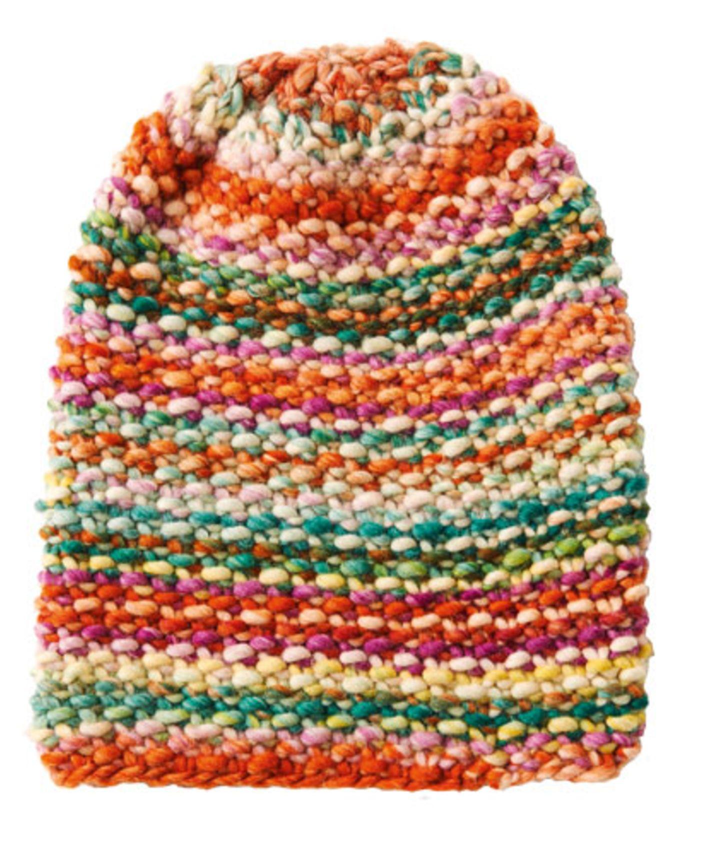 Hier können Sie das Wollpaket für die Perlmuster-Mütze bestellen