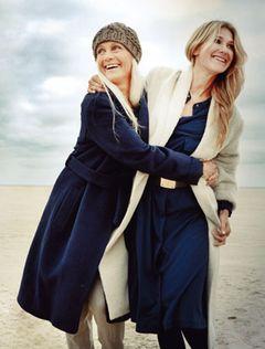 Farbtrend Wintermarine - Wollweiß und Navyblau harmonieren perfekt